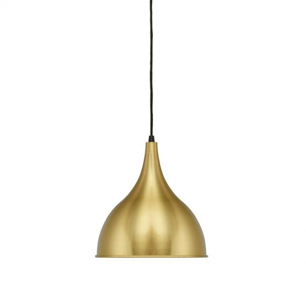 Silhuet lámpara Fritz Hansen latón cepillado