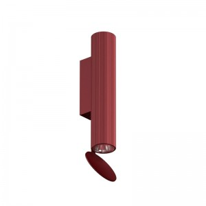 aplique pared Flauta Riga Flos rubí 225 mm