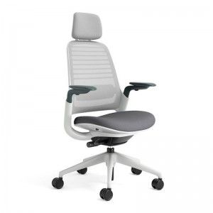Silla Series 1 de Steelcase con reposacabezas en Moises Showroom