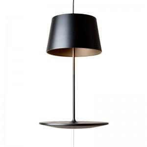 Lámpara de suspensión Illusion color negro de Northern Lighting. Disponible en Moisés showroom