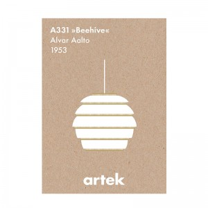 Beehive greige poster Artek