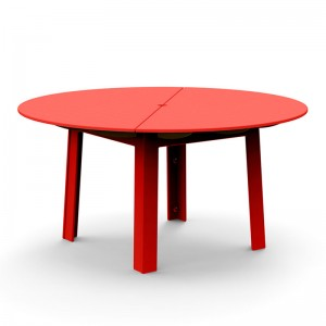 mesa comedor Fresh air roja Loll designs