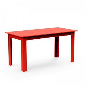 mesa comedor Fresh Air Loll designs roja largo 157