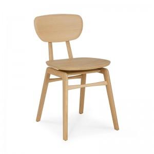 silla Pebble roble barnizado Ethnicraft