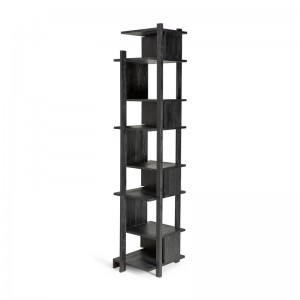 Columna Abstract teca negra Ethnicraft