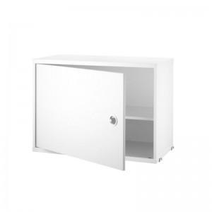 String system cabinet blanco puerta batiente