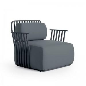 sillón con brazos Grill Diabla outdoor plain Antracita