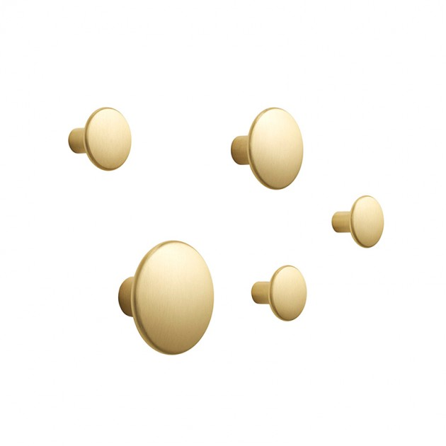 Percheros Dots Metal Set of 5 de Muuto en Moises Showroom