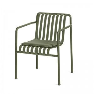 Palissade dining armchair HAY verde oliva