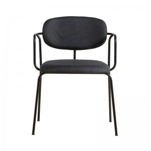 silla Frame Woud negro/negro