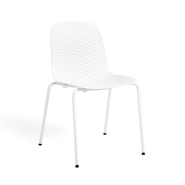 Silla 13Eighty chair HAY blanca