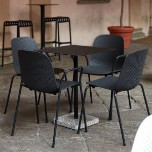 Silla 13Eighty armchair HAY en terraza