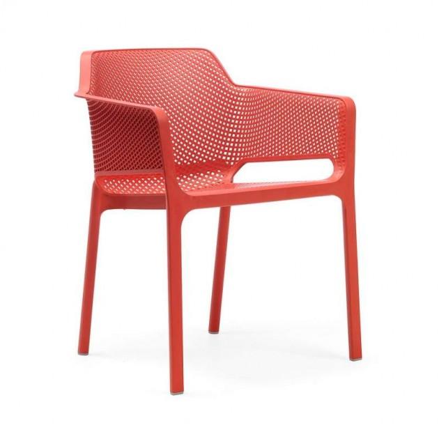 silla Net de exterior coral Nardi