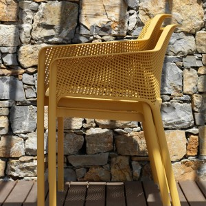 sillas Net de exterior Nardi apilables