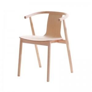 silla Bac Cappellini fresno blanqueado
