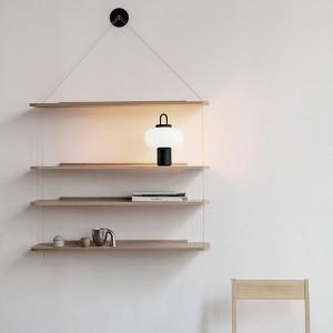 estantería con lámpara portátil Nox Astep