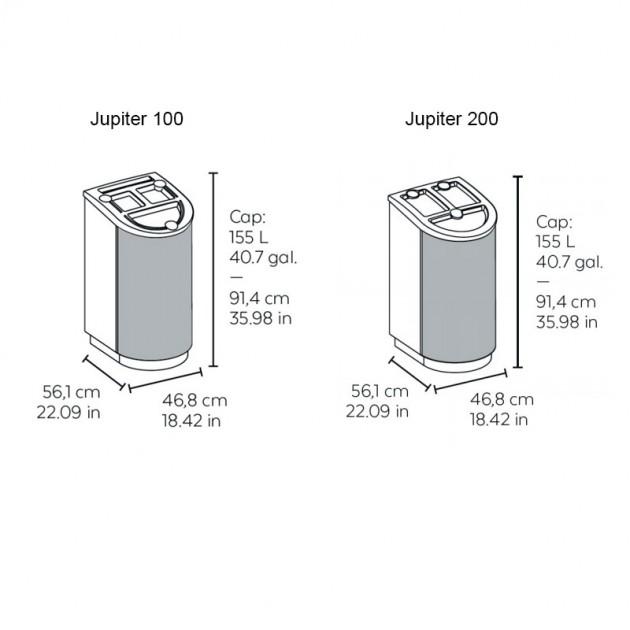 medidas papelera reciclaje Jupiter Vilagrasa