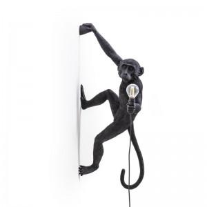 Monkey Lamp Black Edition Pared - Seletti