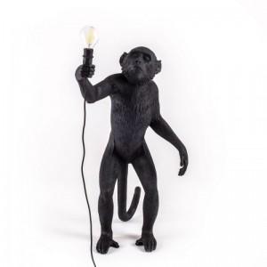 Monkey Lamp Black Edition Pie - Seletti