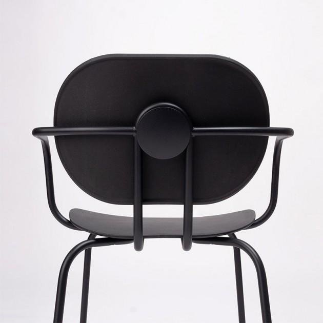 respaldo detalle silla Hari con brazos polipropileno Ondarreta