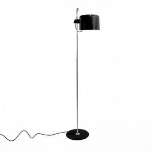 lámpara de pie Coupè 3321 Oluce negra