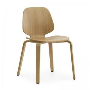 Silla My Chair Oak de Normann Copenhagen en Moises Showroom