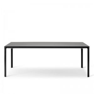 mesa Table Fredericia linóleo negro