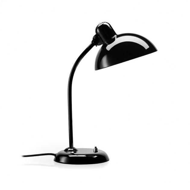 Lámpara de mesa basculante Kaiser color negro de Fritz Hansen