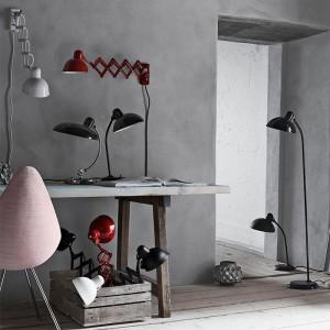 Ambiente con Lámparas Kaiser Idell de Fritz Hansen