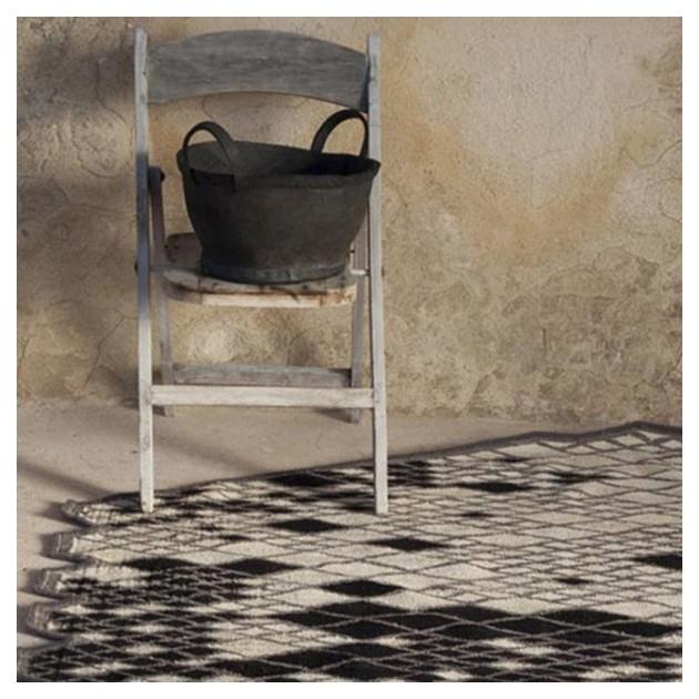 ambiente detalle alfombra Losanges II Nanimarquina