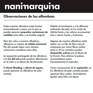 Nanimarquina Alfombra Rabari 1
