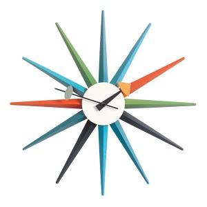 Reloj Sunburst Clock Multicolor - Vitra