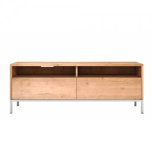 Mueble TV Ligna 2 cajones Roble  - Ethnicraft