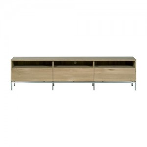 Mueble TV Ligna 3 cajones Roble  - Ethnicraft