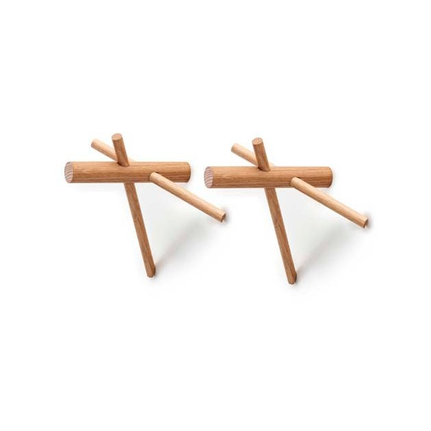comprar perchero stick hook color nature de Normann copenhagen