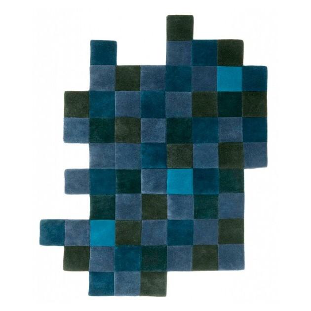 Alfombra Do Lo Rez 2 azules Nanimarquina