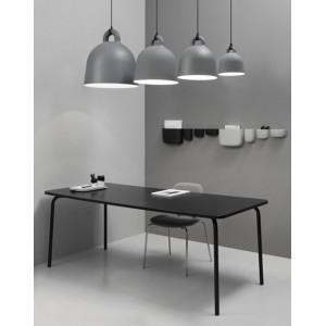 ambiente con Lámparas de suspensión Bell color gris de Normann copenhagen