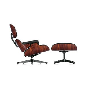Lounge Chair y Ottoman santos palisandro - Vitra