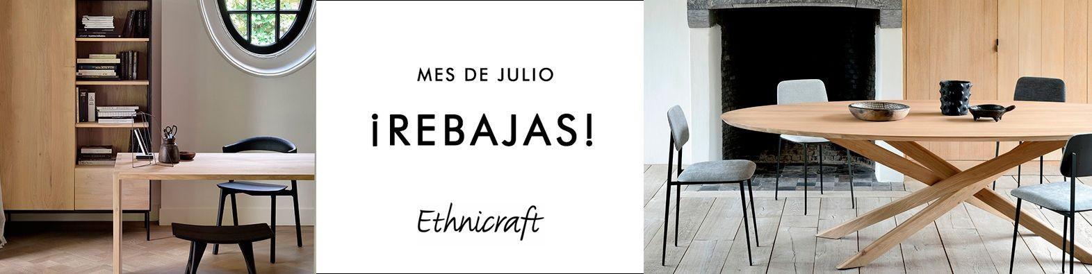 Ethnicraft muebles de diseño nórdico para el hogar ¡Ahora con un 15% de descuento!